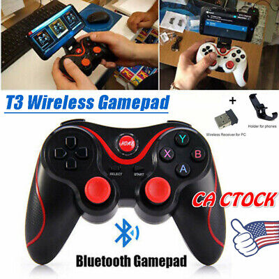 Bluetooth Wireless Gamepad Joystick Joypad Game Controller Fit PC/Android/iPhone