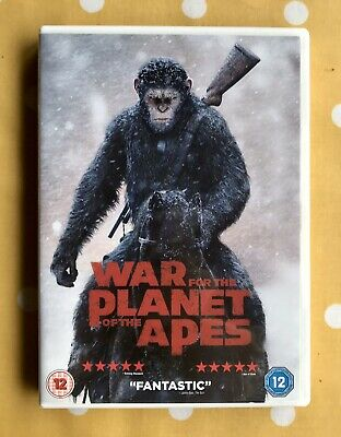 War for the Planet of the Apes DVD (2017)
