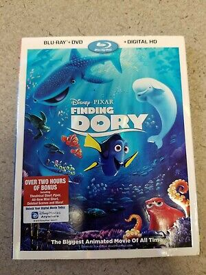 Finding Dory Blu-Ray and DVD - New and Sealed