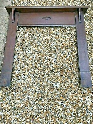 Victorian or Edwardian fireplace surround