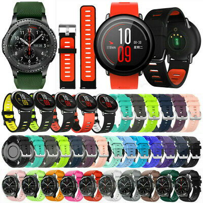 Replacement Silicone Wrist Bracelet Band Strap For Huami Amazfit 3/GTR 47MM/Pace