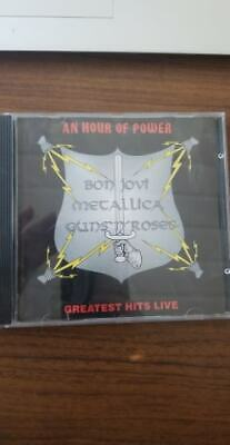 Bon Jovi - Bon Jovi - An Hour Of Power - Greatest Hits Live - Metallica CD (B29)