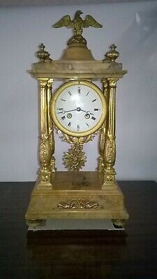 Antique French Portico Clock