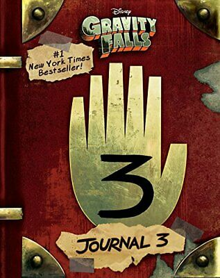 Gravity Falls Journal 3 Hardcover Monster Brims Edition Dipper Mabel Cipher