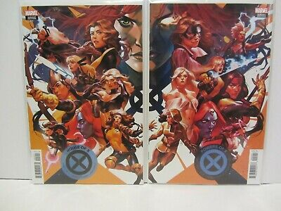 Marvel Comics House Of X Powers Of X #2 Putri Connecting Variant set NM