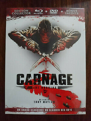 Carnage édition collector blu-ray + DVD + bonusinédits NEUF SOUS BLISTER