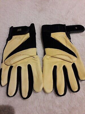 Royal Horticultural Society Leather Gardening Gloves  brand new unwanted gift