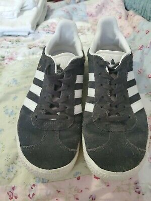 Adidas Kids Lite Racer Blue White Sneakers Shoes Size 6 Youth