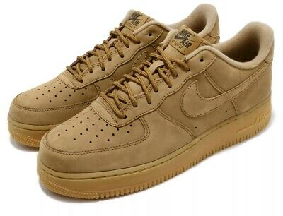 Nike Air Force One 1 Low FLAX WHEAT BROWN SUEDE AF1 AA4061-200 sz 8-15 Men/'s