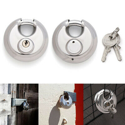 Protection Security Tool Bicycle Anti-theft Stainless Steel Lock Disc Padlock