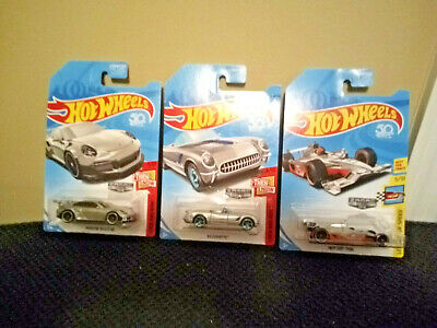 "Hot Wheels 50th-  Lot of 3-  ""ZAMAC (2018) """