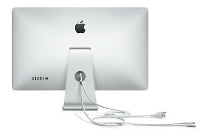 """Apple 27"""" Thunderbolt Monitor A1407 LCD Widescreen 2560 X 1440 Display"""