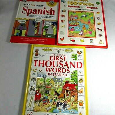 KIDS LEARNING SPANISH BOOKS All Hard Covers