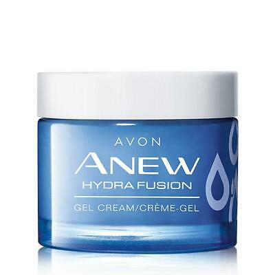 Avon Anew Hydra Fusion Gel Cream Full Size Instant Results Hydrating Plumps 1.7