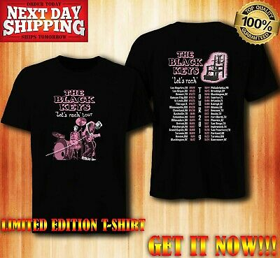 NEW T-shirt The black keys lets tour date 2019 limited editions!!!!!!!!!!!!!!!!