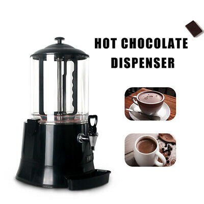10L Commercial Electric Hot Chocolate Beverage Dispenser Hotel Buffet Equipment