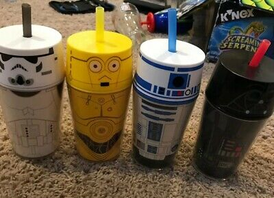 Zak Star Wars 14 oz. Insulated Travel Tumbler R2D2, Darth Vader, C3po, Storm