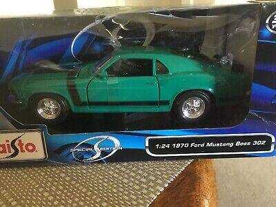 Maisto 1:24 Scale 1970 Ford Mustang BOSS 302 Metal Model Car