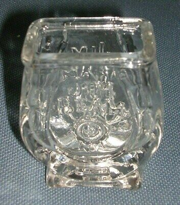 Vintage Jim Beam Kentucky Bourbon Whiskey Horseshoe Shot Glass! Kentucky Derby