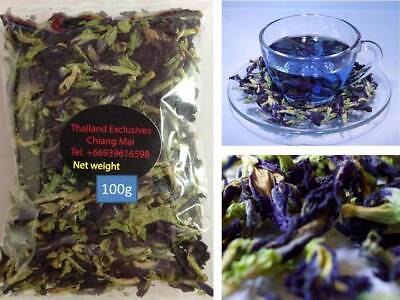 Thai Blue Butterfly Pea Tea Making Flower Food Coloring 20g 50g 100g