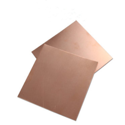 100mm × 100mm 99.9% Pure Copper Cu Metal Sheet Plate 0.1mm - 1mm Thickness Lot