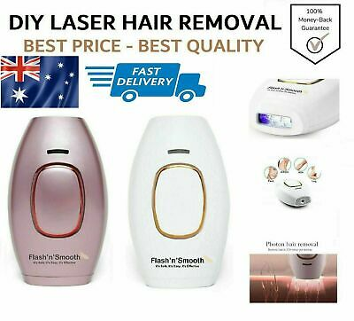 DIY Pulse Laser Hair Removal 400000 Flash Painless Remover IPL Kit Face Body cc