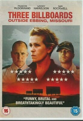 Three Billboards Outside Ebbing, Missouri [DVD] [2018] NEW & SEALED REGION 2 U.K