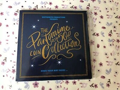 The Christmas Pantomime 50p Coin Set From Westminster Mint ~ Brand New