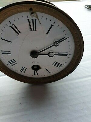 Hac Clock Movement Working 3.5 inch hole to suit cracks on dial fit french clock
