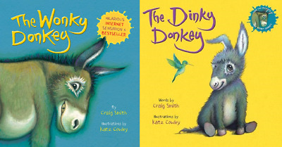 The Donkey Paperback Pack Includes Dinky and Wonky 1407198513