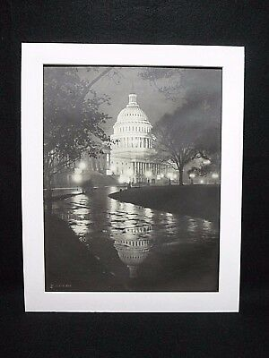 "1920s RARE ORIGINAL 11""x14"" U S CAPITAL PHOTO / THEO HORYDCZAK (b1890-d1971)"