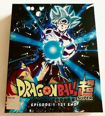 Dragon Ball Super (Chapter 1 - 131 End) ~ 10-DVD SET ~ English Dubbed Version ~