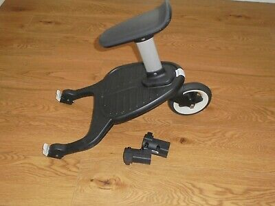 BUGABOO Comfort wheeled buggy board with seat + Cameleon adaptors EX COND