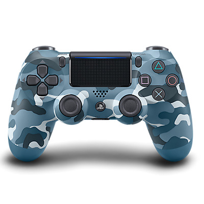 Sony PlayStation Dualshock 4 Wireless Controller V2 Blue Camouflage