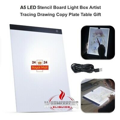 A5 Ultra Slim LED Drawing Board Art Craft Copy Tracing Light Box Pad Board gift