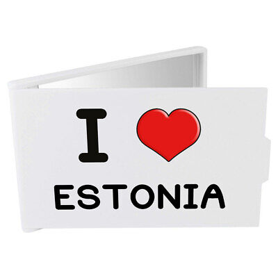'I Love Estonia' Compact / Travel / Pocket Makeup Mirror (CM00000294)
