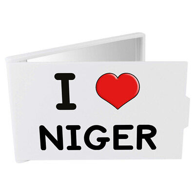 'I Love Niger' Compact / Travel / Pocket Makeup Mirror (CM00000305)