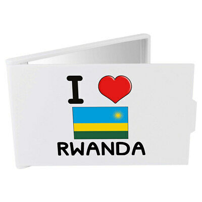 'I Love Rwanda' Compact / Travel / Pocket Makeup Mirror (CM00000326)