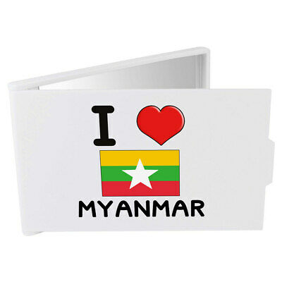 'I Love Myanmar' Compact / Travel / Pocket Makeup Mirror (CM00000316)