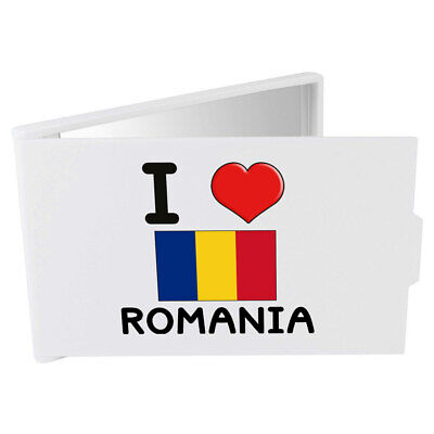 'I Love Romania' Compact / Travel / Pocket Makeup Mirror (CM00000141)
