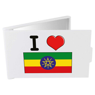 'I Love Ethiopia' Compact / Travel / Pocket Makeup Mirror (CM00000167)