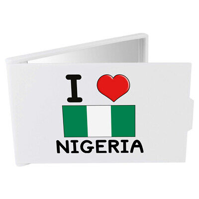 'I Love Nigeria' Compact / Travel / Pocket Makeup Mirror (CM00000254)