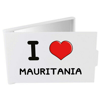 'I Love Mauritania' Compact / Travel / Pocket Makeup Mirror (CM00000223)