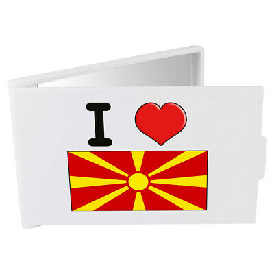 'I Love Macedonia' Compact / Travel / Pocket Makeup Mirror (CM00000177)