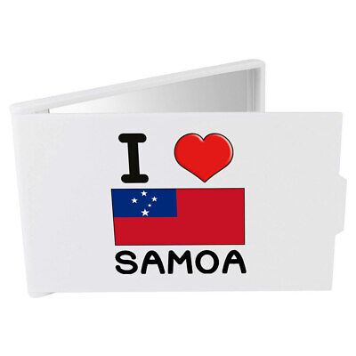 'I Love Samoa' Compact / Travel / Pocket Makeup Mirror (CM00000328)