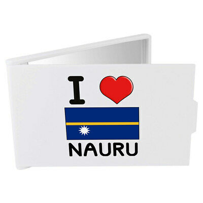 'I Love Nauru' Compact / Travel / Pocket Makeup Mirror (CM00000318)