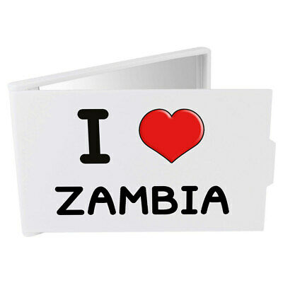 'I Love Zambia' Compact / Travel / Pocket Makeup Mirror (CM00000235)