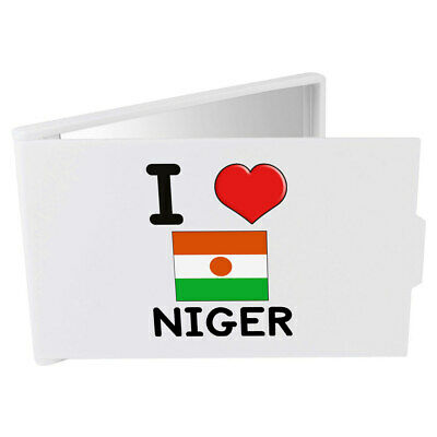 'I Love Niger' Compact / Travel / Pocket Makeup Mirror (CM00000255)