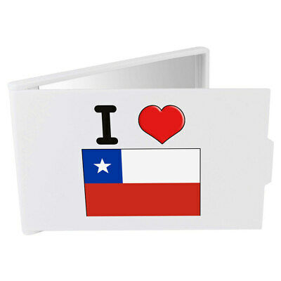 'I Love Chile' Compact / Travel / Pocket Makeup Mirror (CM00000265)