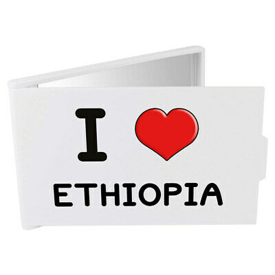 'I Love Ethiopia' Compact / Travel / Pocket Makeup Mirror (CM00000210)